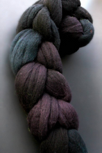 "Load image into Gallery viewer, ""Ravens Landing"" Roving - Fine Merino"