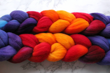 "Load image into Gallery viewer, ""Ring Of Fire"" Roving - Fine Merino"