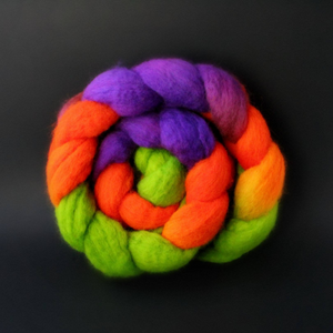 """This is Halloween"" Roving - Fine Merino"