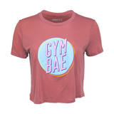 Gym Bae Crop Top - Mauve