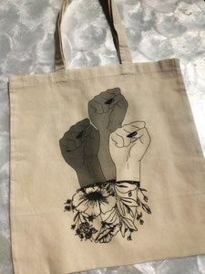 Resist Canvas Tote