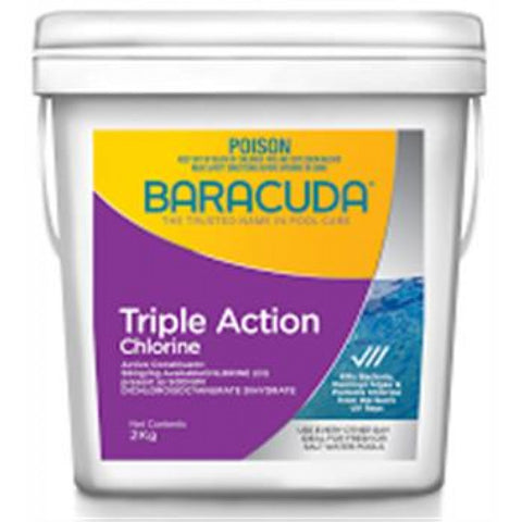 Triple Action Chlorine - 2Kg