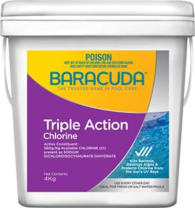 Triple Action Chlorine - 4Kg