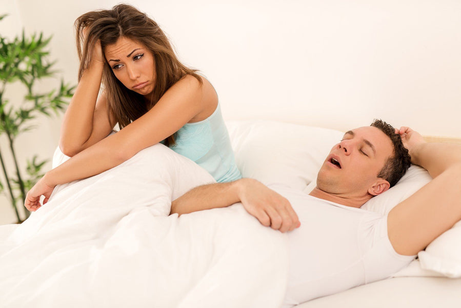 How to Get Use To Sleeping With Your Partner