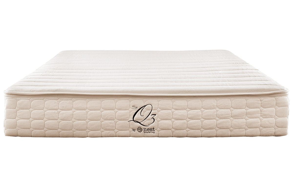 all organic certified components or oekotex certified blended latex puregrow wool and blended organic cotton option not a certified organic mattress