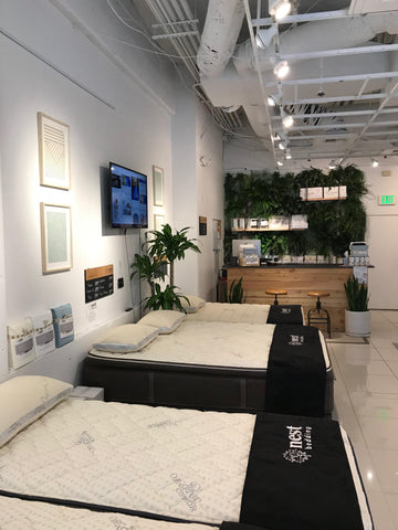 seattle nest bedding showroom