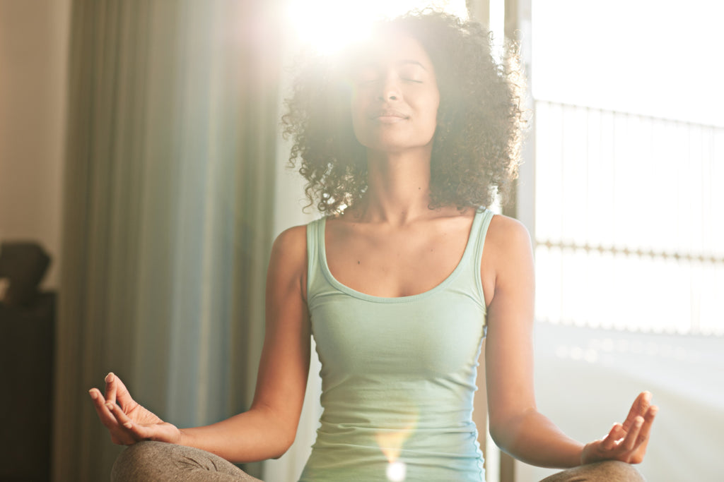 Practicing meditation for getting a better night's sleep