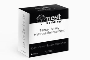 Nest Bedding® Tencel® Jersey Encasement Mattress Protector