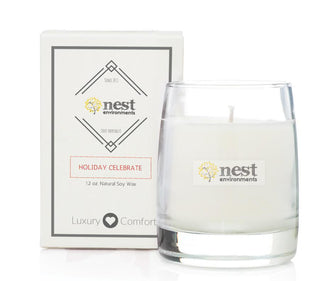 nest bedding candles