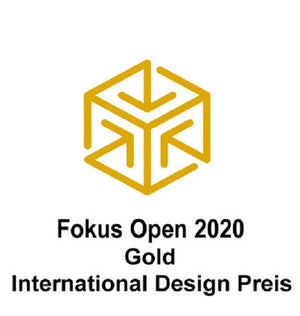 Preis für PAPERO: Fokus Open 2020 International Design GOLD
