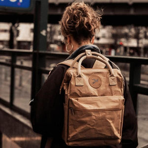 PAPERO backpack made of washable paper, robust, light, water-repellent vegan, fair, sustainable