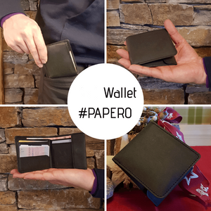 PAPERO wallet Wallet made of paper, vegan fair sustainable