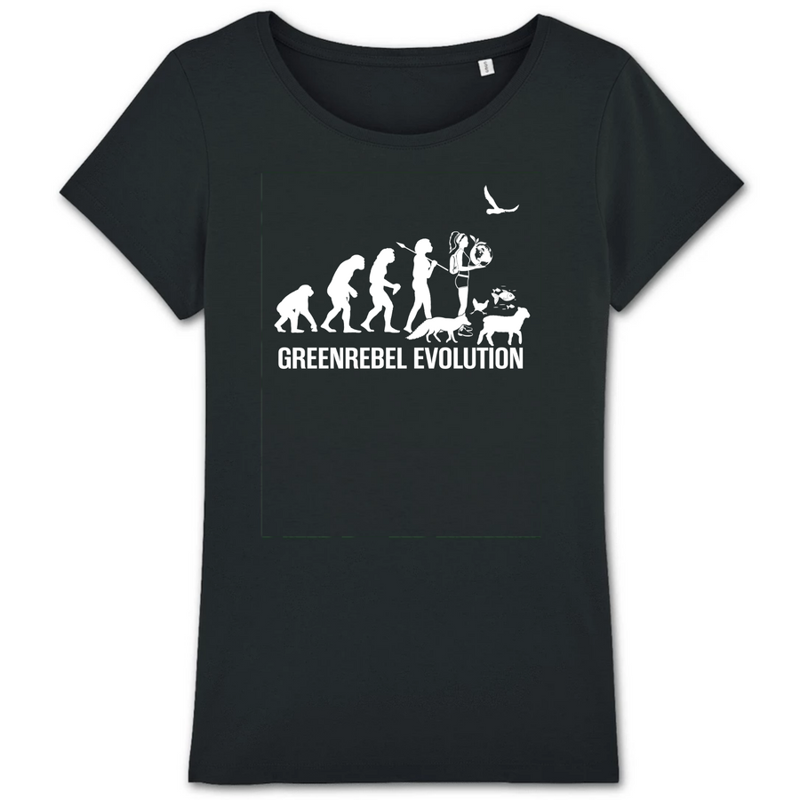 T-Shirt Greenrebel Evolution