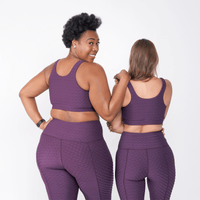 Hi-Rise Leggings - Aubergine Harbor