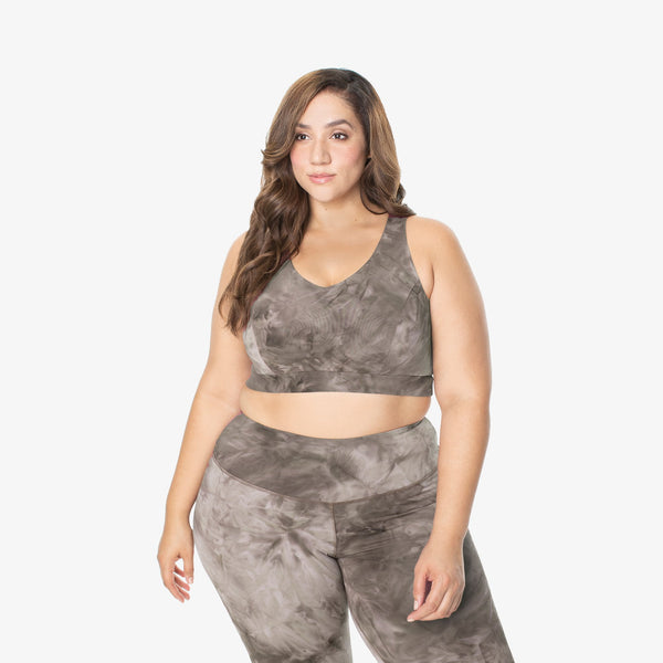 Performance Bralette - Grey Storm