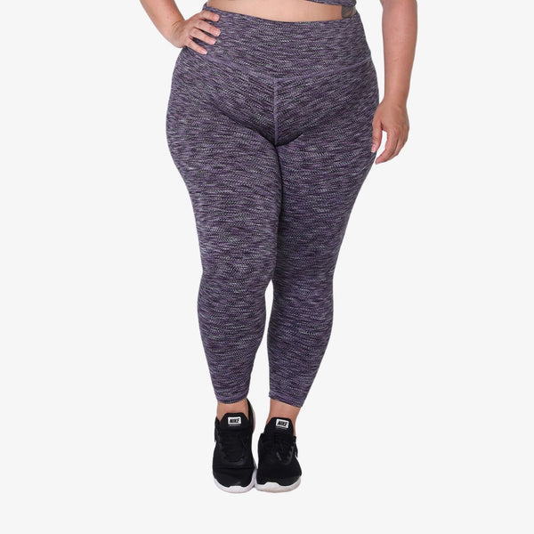 Hi-Rise Legging - Purple ZigZag