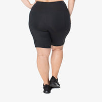 Hi-Rise Bike Shorts - Black