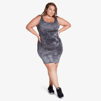 Short Tank Dress - Grey Storm