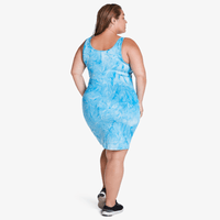 Short Tank Dress - Blue Storm
