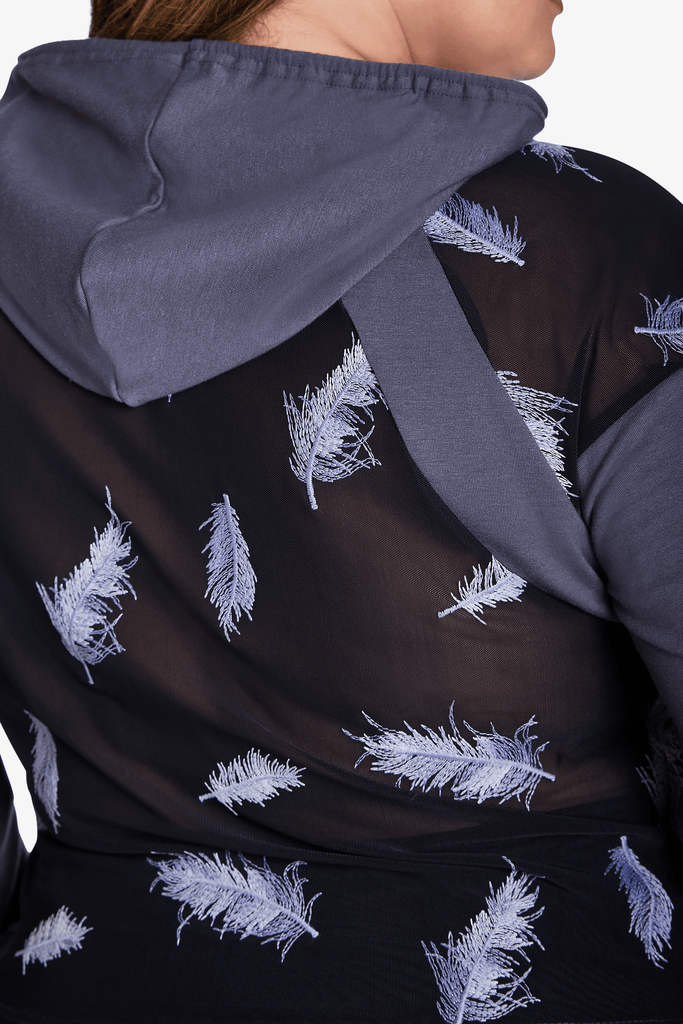 Jennipher Sweatshirt - Grey Feather