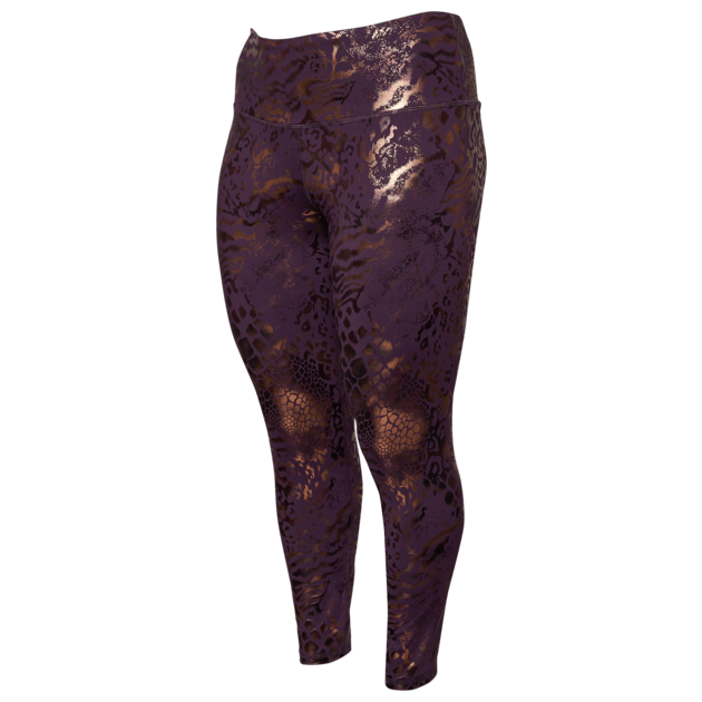 Lola Getts Hi-Rise Legging - Purple Animal Print