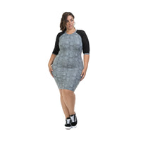 Lola Getts Short Sleeve Dress - Black Impression