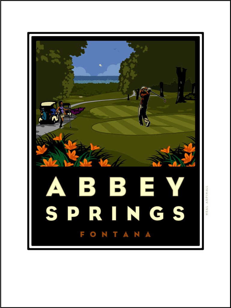 01A Abbey Springs Digital Studio Print