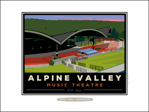 0 Alpine Valley Music Theatre Digital Studio Print