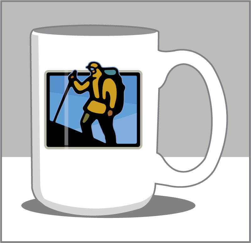 Meet Me at the Top Mtn Climber 15 oz Coffee Mug