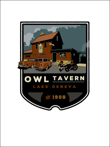 0 The Owl Tavern Digital Studio Print (Giclee)