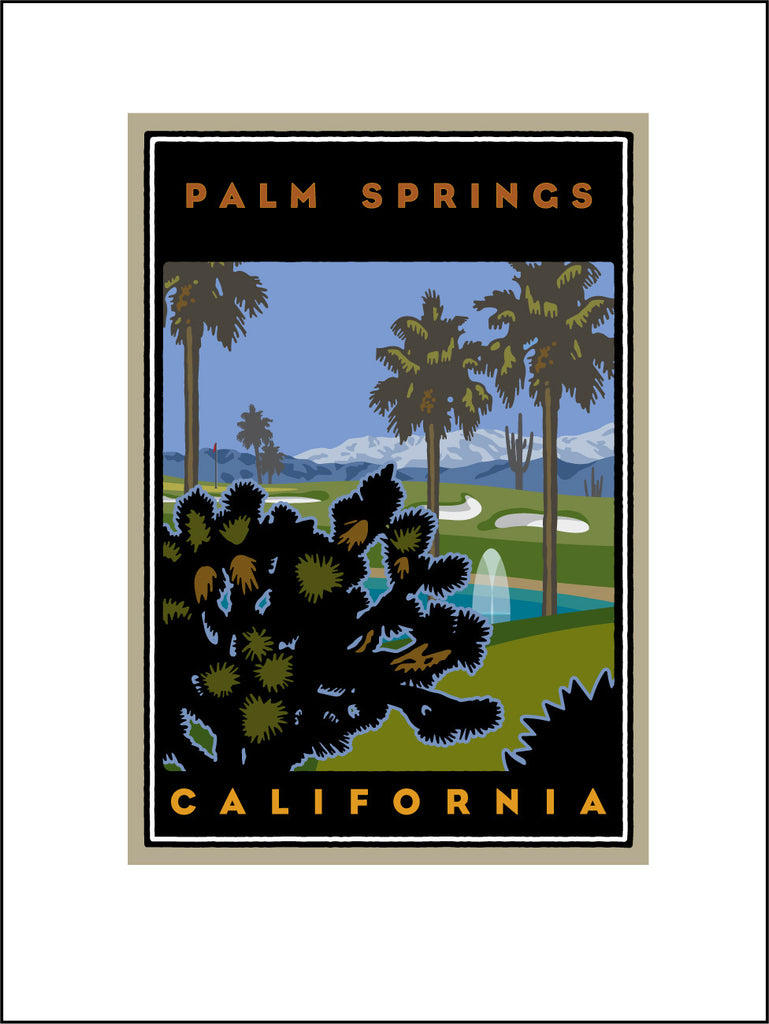 AB1. Palm Springs Digital Studio Print