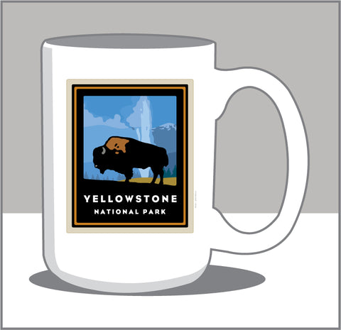 000 Yellowstone National Park 15 oz Coffee Mug