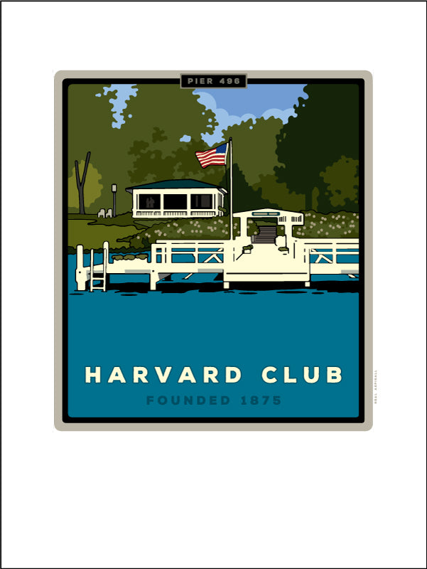 0 Harvard Club Digital Studio Print