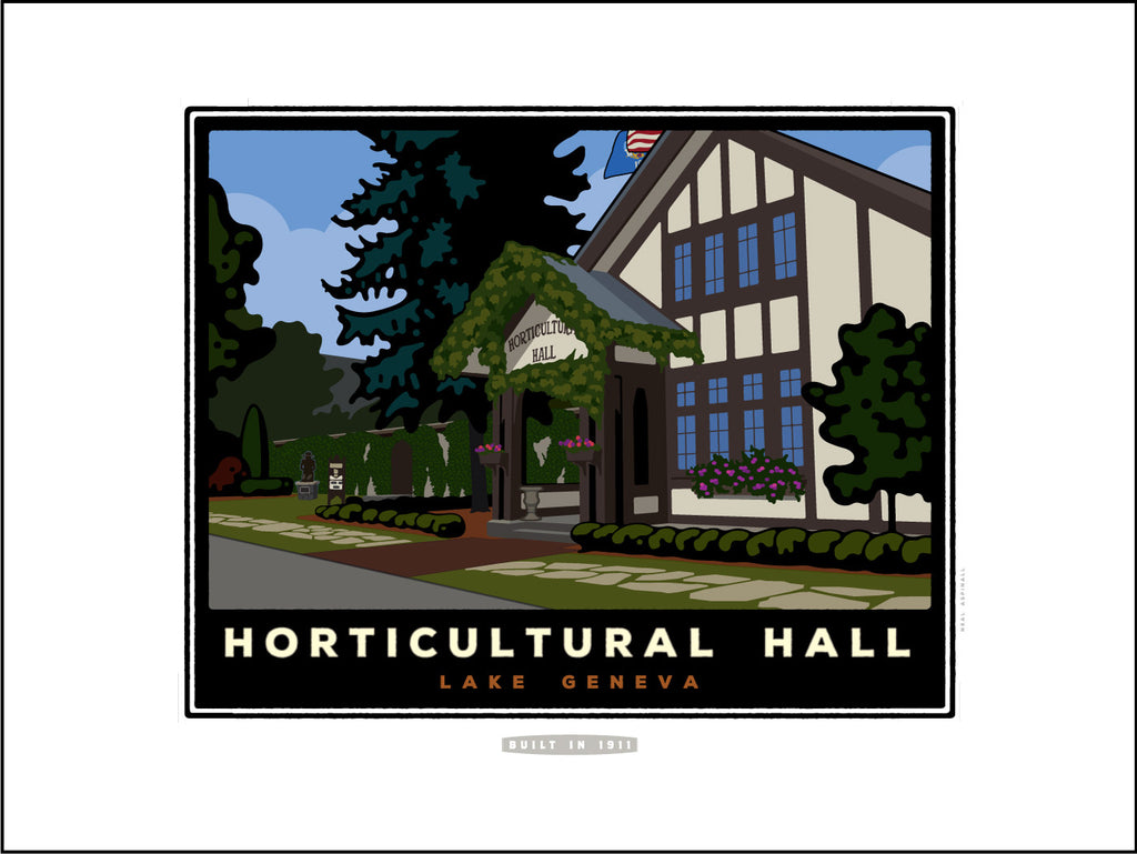 01A Horticultural Hall Digital Studio Print