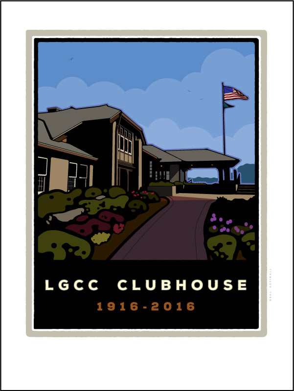 Lake Geneva Country Club Clubhouse 100th Anniversary Digital Studio Print