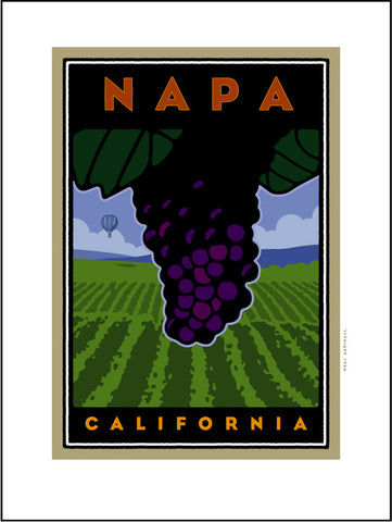 AB1. Napa, Digital Studio Print