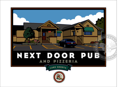 Next Door Pub Giclee Print