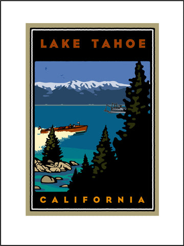 AB1.Lake Tahoe Digital Studio Print
