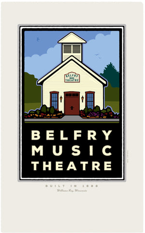 000 Belfry Music Theatre Digital Studio Print