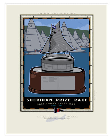 0 Sheridan Prize Race Digital Studio Print
