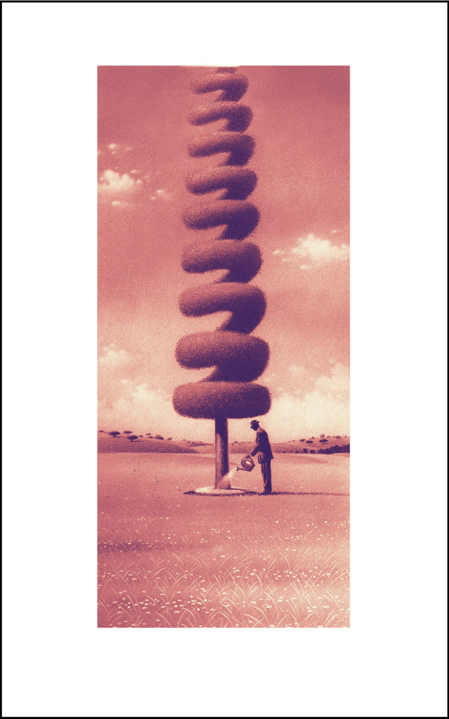 Matt Zumbo Tree of Growth (Sepia) Digital Studio Print