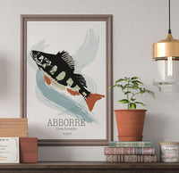 Poster: Perch, av Art & Design by Sara