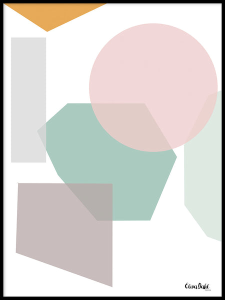 Poster: Abstract, by Elina Dahl