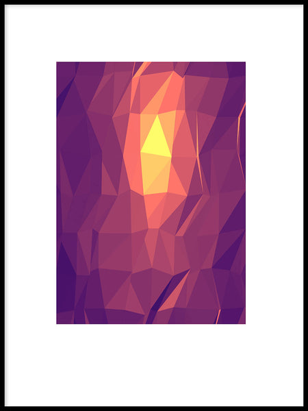 Poster: Abstract shapes, by Karl-Oskar