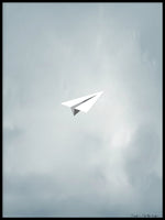 Poster: Airplane, by Sofie Staffans-Lytz