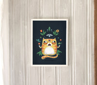 Poster: All Knowing Cat, by Discontinued products