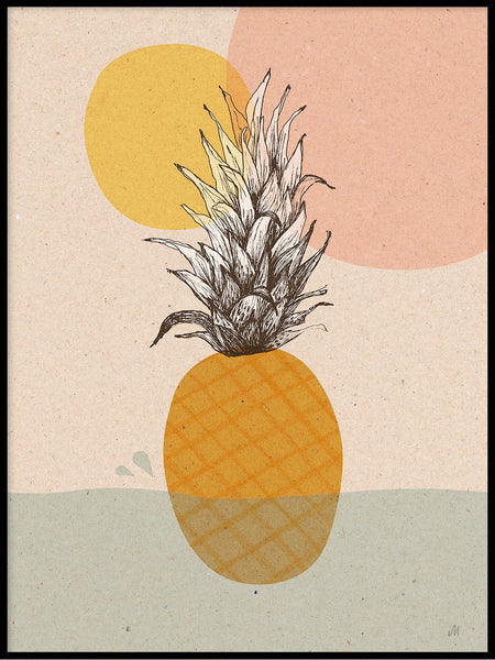 Poster: Pineapple, by Ida Maria