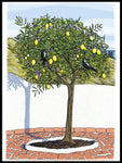 Poster: Andalusia: Lemon tree, by Ingrid Fröhlich