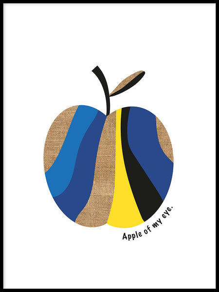 Poster: Apple of my eye, by Paperago