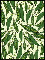 Poster: Peas, by Malin Westman